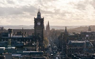 This is Edinburgh.